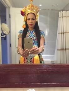 เมญ่า นนทวรรณโชว์ซ้อมรำมโนราห์ สู้ประกวด Miss World 2014