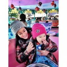 Pic : หนิง ปณิตา - น้องณิริน แม่ลูกหน้าหมวย น่ารักเว่อร์