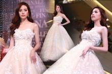 ออร่าจับ ณิชา สวยหวานขึ้นตาในชุดแต่งงาน