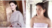 คุณค่าที่คุณคู่ควร นุ่น วรนุช งามสง่าในชุดไทย