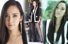 อั้ม พัชราภา สวยสง่าในชุดสูทดำสุดเก๋จากแบรนด์ไทย !!