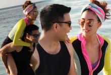 น้ำทะเลหวาน!!! เผยภาพพรีฮันนีมูนสุดมุ้งมิ้งของ