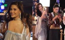 มารีญา ในชุดที่ พระองค์หญิง ประทานให้ สะกดทุกสายตา สง่าบนพรมแดง Miss Universe!