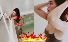 """ชาวเน็ตซูมแรง!! """"เจนี่"""" ในชุดว่ายน้ำ สีแดงแปร๊ด!! มีคนตาดีเห็นเว้าสูงมาก แถมเกลี้ยงสุดๆ!!"""