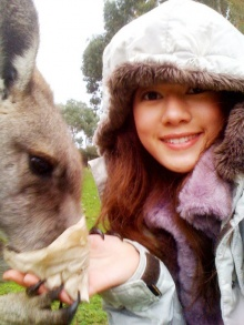 Pic : ตาม ทับทิม อัญรินทร์ เที่ยว Melbourne, Australia