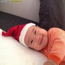 Pic : อัพเดทความน่ารัก ซานต้าน้อย น้องแพทริก ของ แม่นิหน่า