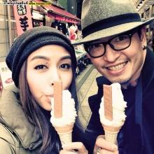Pic : วิกกี้ - ชาย ซ้อมฮันนีมูนญี่ปุ่น ก่อนลั้นล้าอิตาลี!!